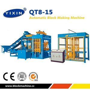 Oman QT8-15 Block Machine Supplier Working in Muscat And Salalah