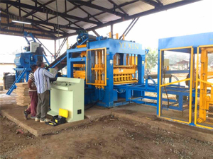 Yixin QT9-15 Perfect Working Brick Making Machine for Africa Market