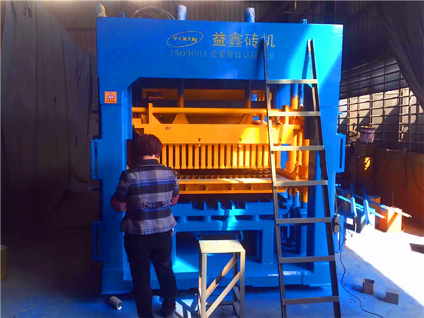 Multifunction QT12-15 Concrete Making Machine