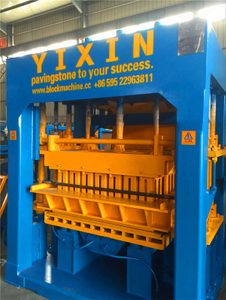 Cost of Concrete Hollow Brick Making Machine Line