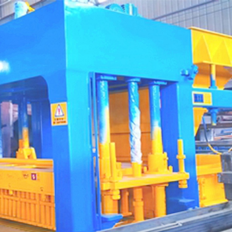 QT9-15 hollow block machine solid brick making system