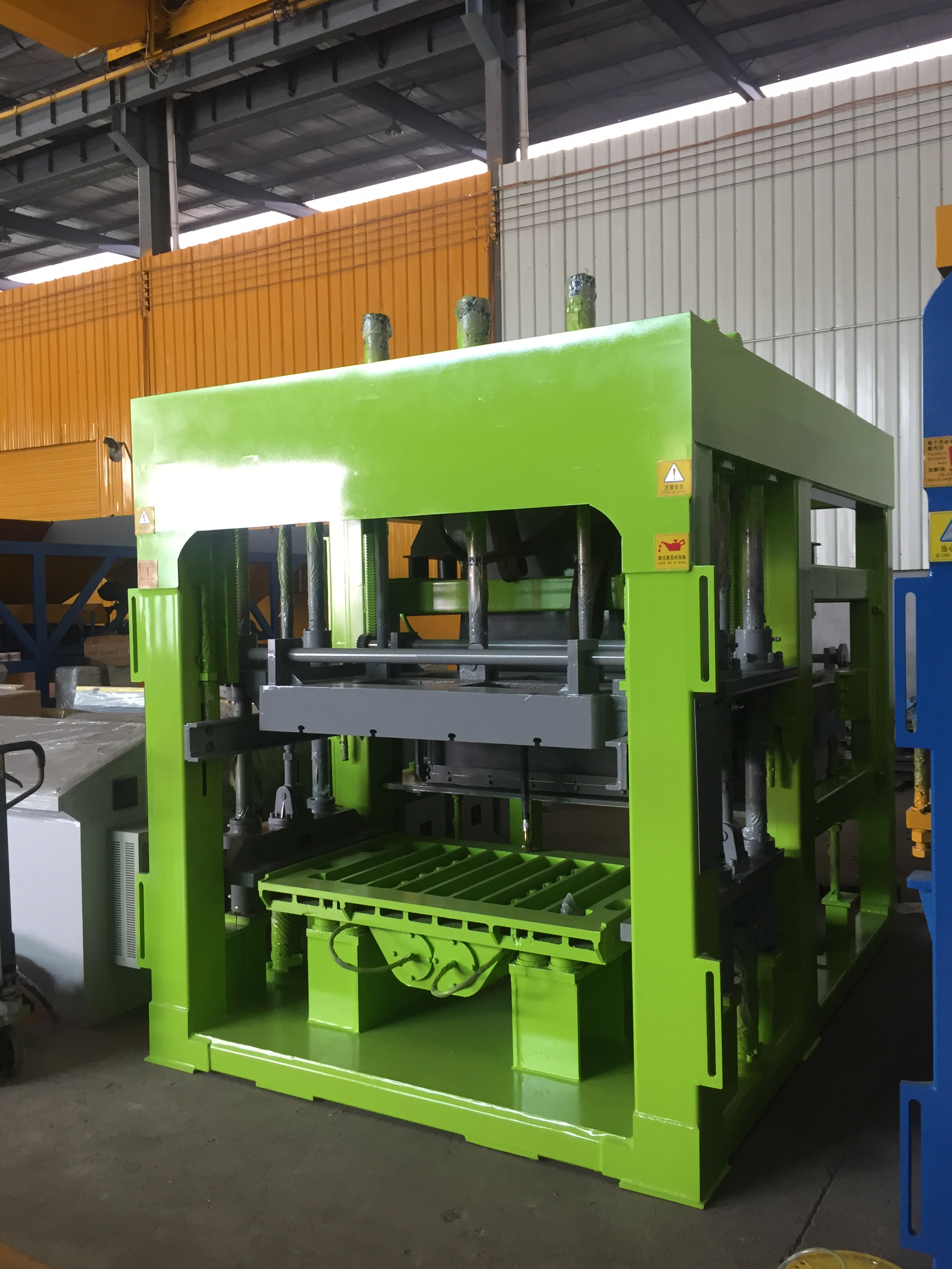QGM Concrete Zenith Germany Technology Block Making Machine Manufacturer