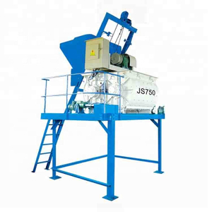 JS500 Concrete Mixer for Brick Making Machine And Batch Plant