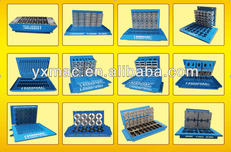 QT12-15 Big Capacity Interligent Hollow Block Production Line for Middle East Price