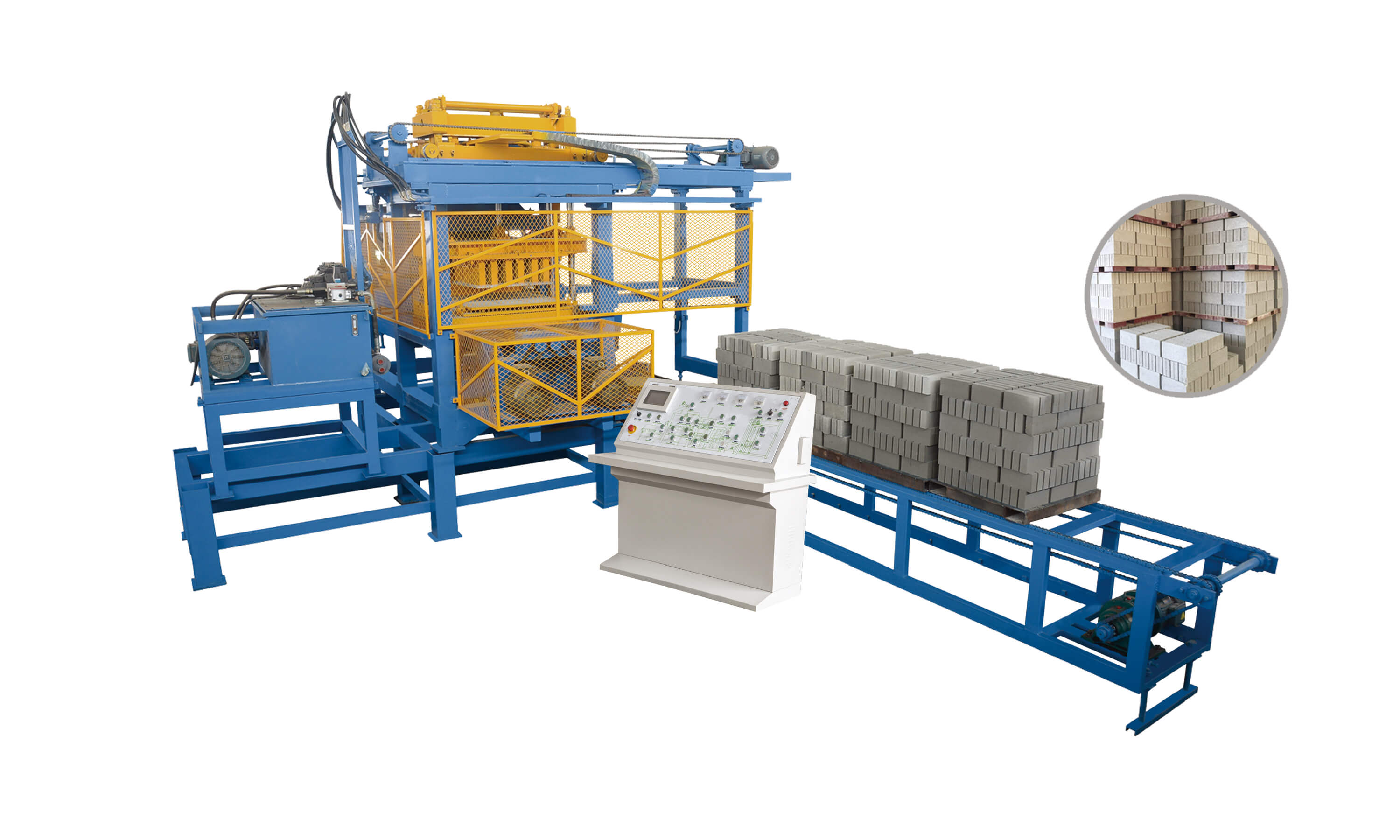 Free Board Pallet Brick Making Machine