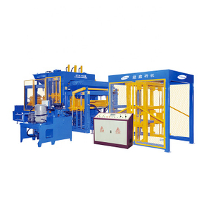 QT10-15 Germany Technology Color Paver Hollow Block Making Machine